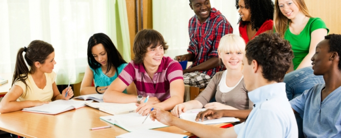 Group of peers sitting in the classroom and learning together.   [url=http://www.istockphoto.com/search/lightbox/9786738][img]http://dl.dropbox.com/u/40117171/group.jpg[/img][/url]